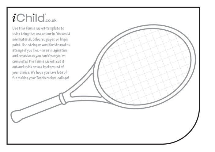 Thumbnail image for the Tennis Collage activity.
